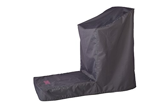Premium Quality Treadmill Cover (non-folding) / UV and water resistant. The best treadmill cover on the market. (Extra Large black)