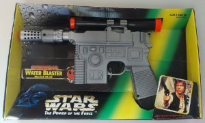 Star Wars Power of the Force Battery Operated Water Blaster