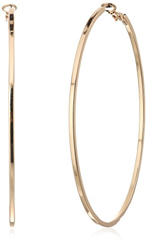 GUESS Basic Extra-Large Thin Hoop Earrings