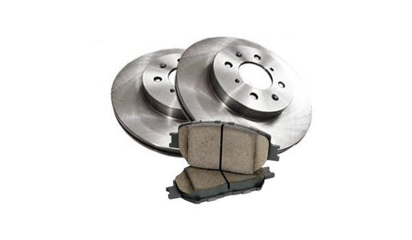 Ceramic Pads For BRZ Impreza Forester Outback Rear Drill Slot Brake Rotors