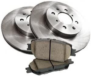 Brembo Front Brake Kit Ceramic Pads /& Coated Disc Rotors for Honda Fit 2007-2008