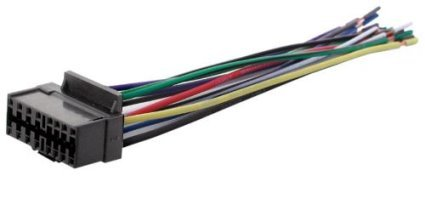 jvc car stereo wire harness - 1