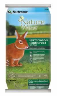 Nutrena NatureWise 18% Performance Rabbit Food 40 Pounds