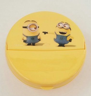 Despicable Me Minion Snack & Storage Container Hinged Flip Top -