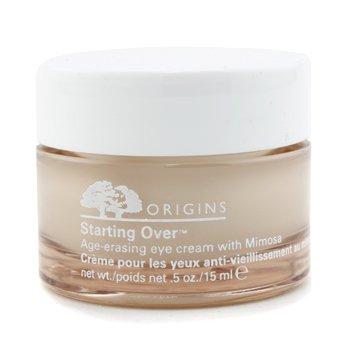 Origins Starting Over Age-Erasing Eye Cream With Mimosa 15ml/0.5oz