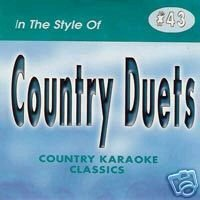 COUNTRY DUETS Country Karaoke Classics CDG Music CD ()