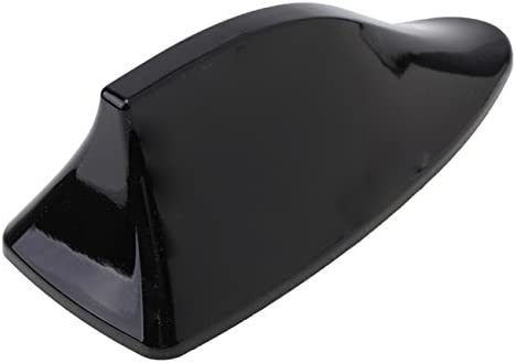 Antena Shark aleta de tiburón coche señal Radio FM AM Car Tuning negro compatible con Qashqai X-Trail Sunny ANQ1