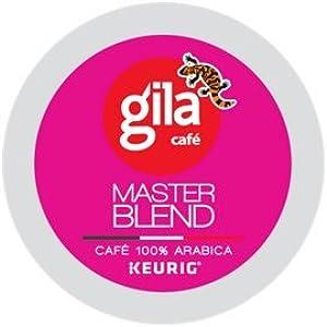 CAFÉ GILA Master Blend Coffee 12 K-cup pods