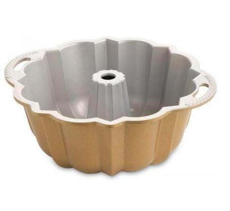 MD Group New 10-15 Cups Cast Aluminum Non Stick Bundt Pan Bakeware