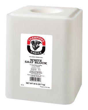 50# Plain Wht Salt Block