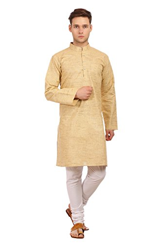 WINTAGE Men's Khadi Cotton Festive and Casual Kurta Pyjama by WINTAGE