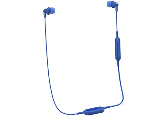 Panasonic Bluetooth (Panasonic Wireless Bluetooth In-Ear Headphones with Sound Mic Controller & Quick Charge Function Blue (RP-HJE120B-A))