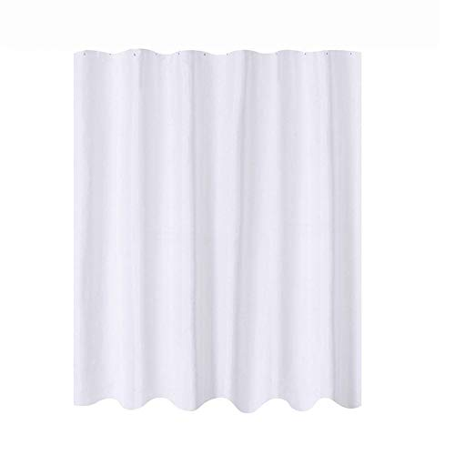 GXOK 1pc Fabric Shower Curtain Resistant Washable Water Repellent Spa Bath Curtain for Bathroom 54x 78 inchs [Ship from USA Directly]