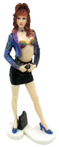Things2Die4 Sexy Glamour Girl `Sheer` Statue Figure Model