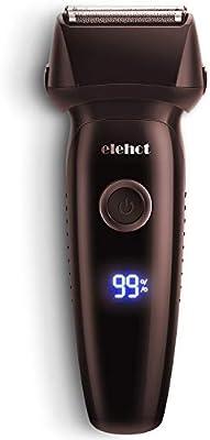 ELEHOT - Maquinilla de afeitar eléctrica para hombre de hoja ...