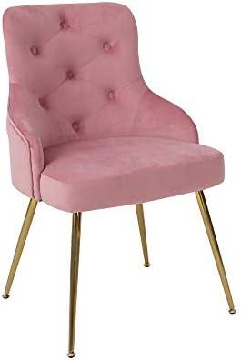 ARDICO Modern Velvet Accent Chair High Back Elegant Dinning Chairs