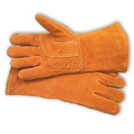PIP Welder's Gloves, Shoulder Grade W/Cotton Foam Lining, Brown, L (73-7085)