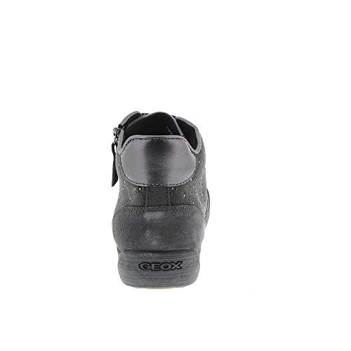 Sneaker Grigio Geox C Donna Grey C0268 anthracite A Alto D Myria Collo dk 8qqrEwtFx