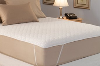 California King Quilted Waterbed Mattress Pad