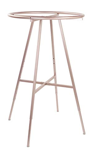 SSWBasics Round Clothing Rack - Rose Gold (48