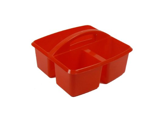 (Romanoff Small Utility Caddy, Red)