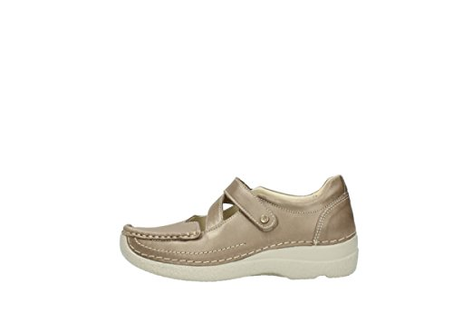 schnürschuhe wolky Leder nbsp;Ontario Taupe 9453 80150 aqTHW8nqd