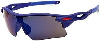 نظارات شمسية رياضية باركور للرجال والنساء لركوب الخيل في الهواء الطلق مرآة رياضية