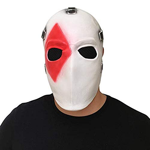 Poker Face Mask for Cosplay Costume Christmas Halloween Theme Party (Diamond)]()