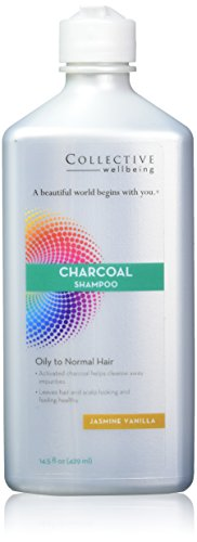 By Jasmine Shampoo - Collective Wellbeing Shampoo, Jasmine Vanilla, Charcoal, 14.5 Fluid Ounce