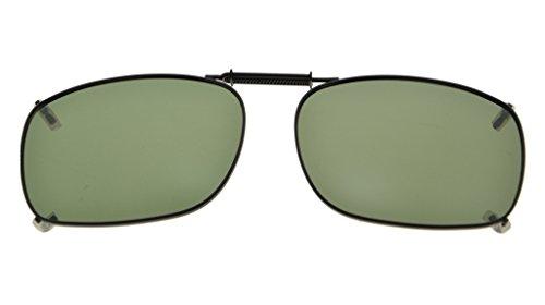 3pcs Marco lente Mix clip de Eyekepper sol polarizado borde de 54x38MM gafas en metal 74dZ1x1qw