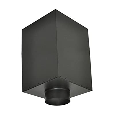 Shasta Vent 6A-SB 6 in. All - Fuel HT Chimney & Ceiling Support Box