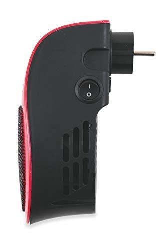 Galileo Casa 2191219 pluggy Mini t//Ventilatore Rosso con Display LED