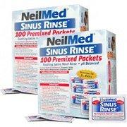 NeilMed Sinus Rinse 100 Salt Premixed Packets for Allergies & Sinus (Pack of 3) ()