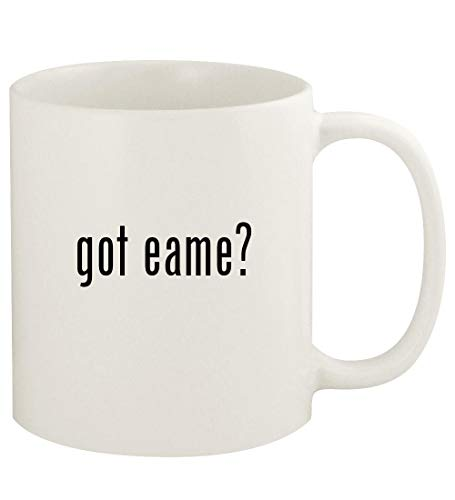 got eame? - 11oz Ceramic White Coffee Mug Cup, White