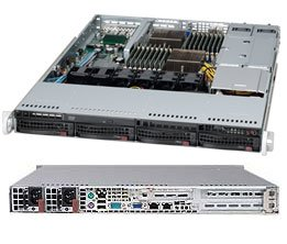 Supermicro A+ Server AS-1022G-URF - SC815TQ-R700UB - Rack-mountable - Ethernet