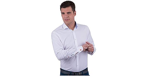 La Española Camisa de Vestir Blanca: Amazon.es: Ropa