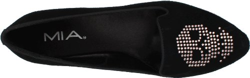 Mia Womens Baraess Loafer Noir