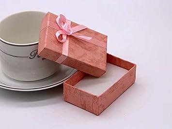 1 caja de regalo de cartón para pulsera, diseño de pajarita: Amazon.es: Bricolaje y herramientas
