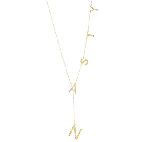 Yellow Gold Vermeil Nasty Lariat Necklace (Yellow Gold Plated)