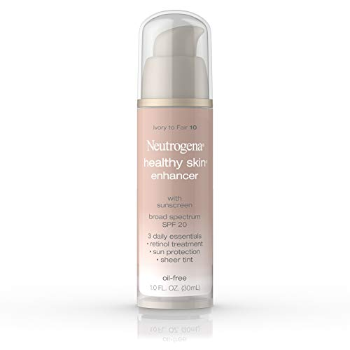 Neutrogena Healthy Skin Enhancer, Broad Spectrum Spf 20, Ivory To Fair 10, 1 Oz