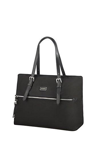 38 black Bag Samsonite Borsa Cm M Spiaggia Shopping Nero Black Da Karissa nnwqR1C0v