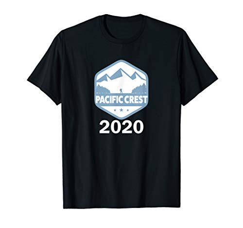 Pacific Crest Trail Hikers PCT Badge Logo Make 2020 the year T-Shirt