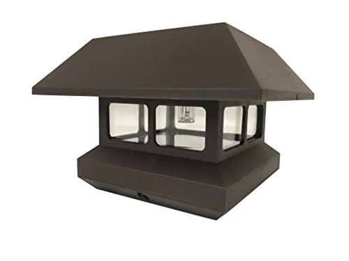 Do-It-Best Solar LED Auto On-Off Deck Post Cap Light (Case of 6)