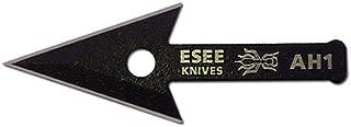 """product image for ESEE Knives AH1-ARROWHEAD-CS, Arrowhead Fixed Blade Survival Knife, 2 1/2"""" Spear Pt, Black"""