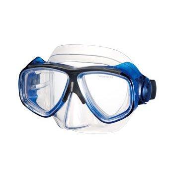 Dive Mask Lenses (IST Optical Corrective Scuba Diving Snorkeling Mask- RX Prescription- Clear Blue-)