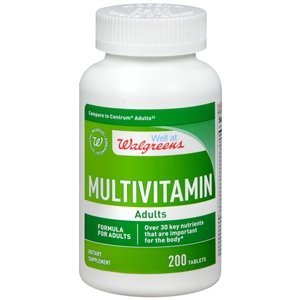 Walgreens Multivitamin Adults, Tablets, 200 ea