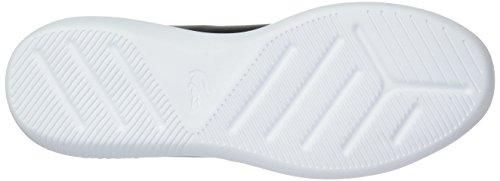 Lacoste White Black Avance Men's Sneaker Leather PZw7TPq