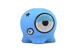 BoomBotix BB1-TEL - Altavoz portátil de 4 W para tablets/smartphones, azul