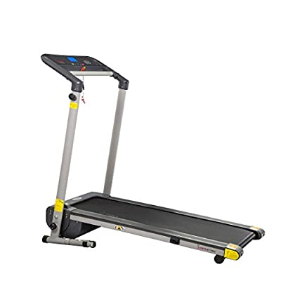 Sunny Health & Fitness SF-T7632 Space Saving Folding Treadmill w/LCD Display