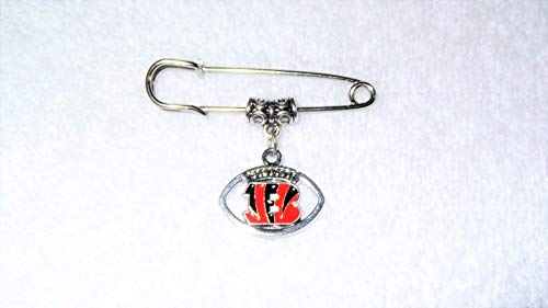 Cincinnati Bengals NFL Football Sport Unisex Jacket Coat Brooch Pin Jewelry Game #IS-807